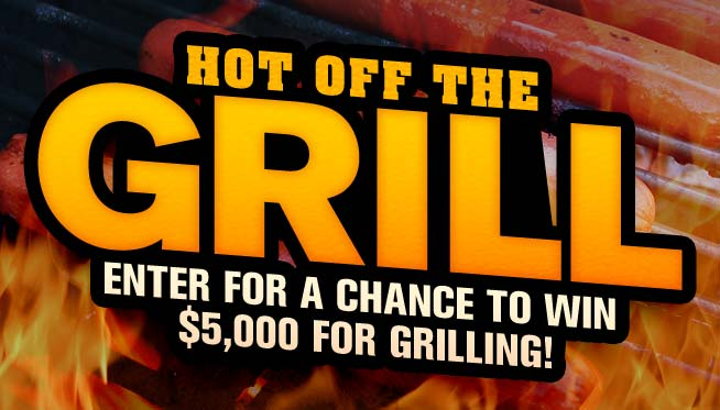 Hot Off the Grill Giveaway