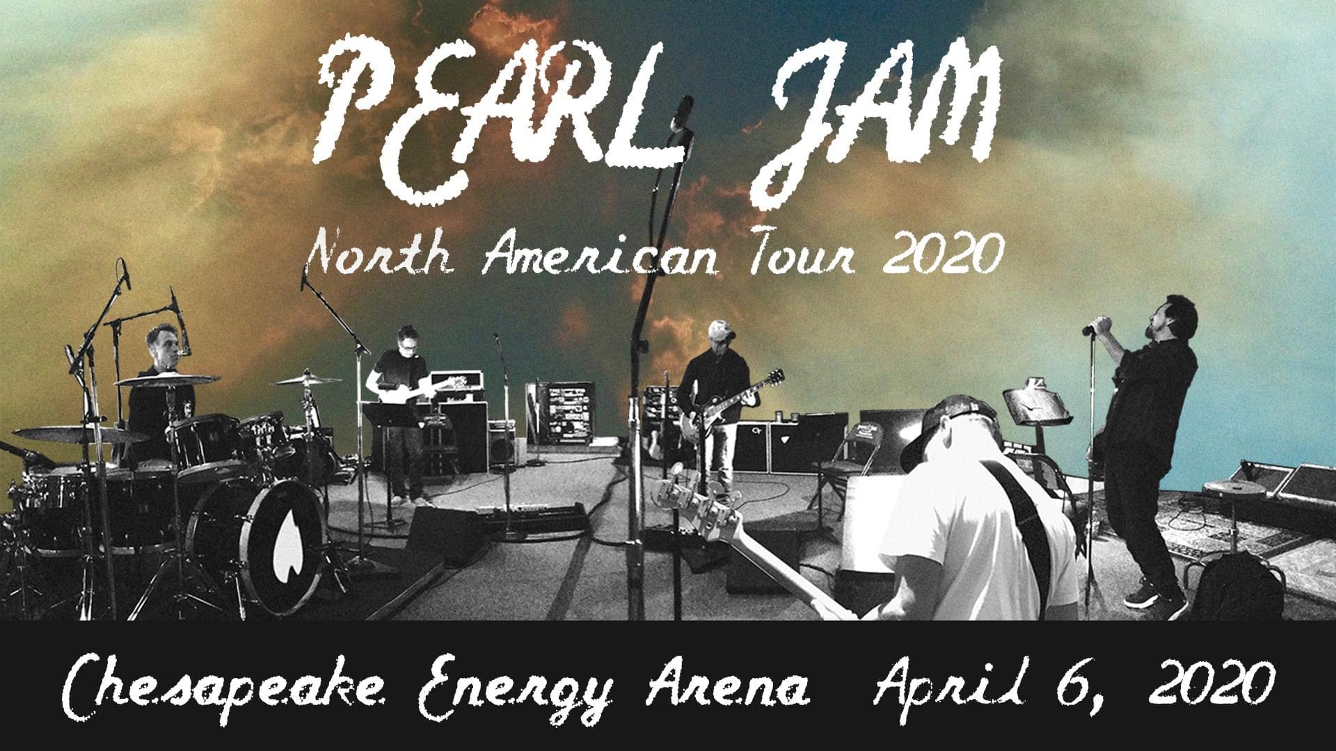 POSTPONED: Pearl Jam | Chesapeake Energy Arena