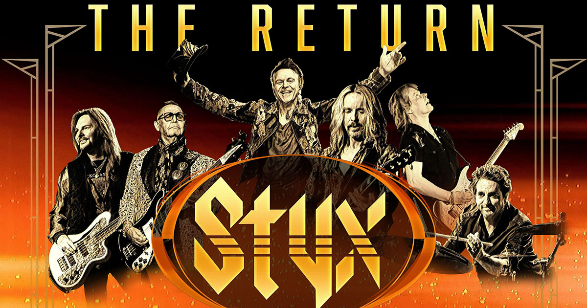 Concert Announcement: STYX & Collective Soul | Zoo Amp