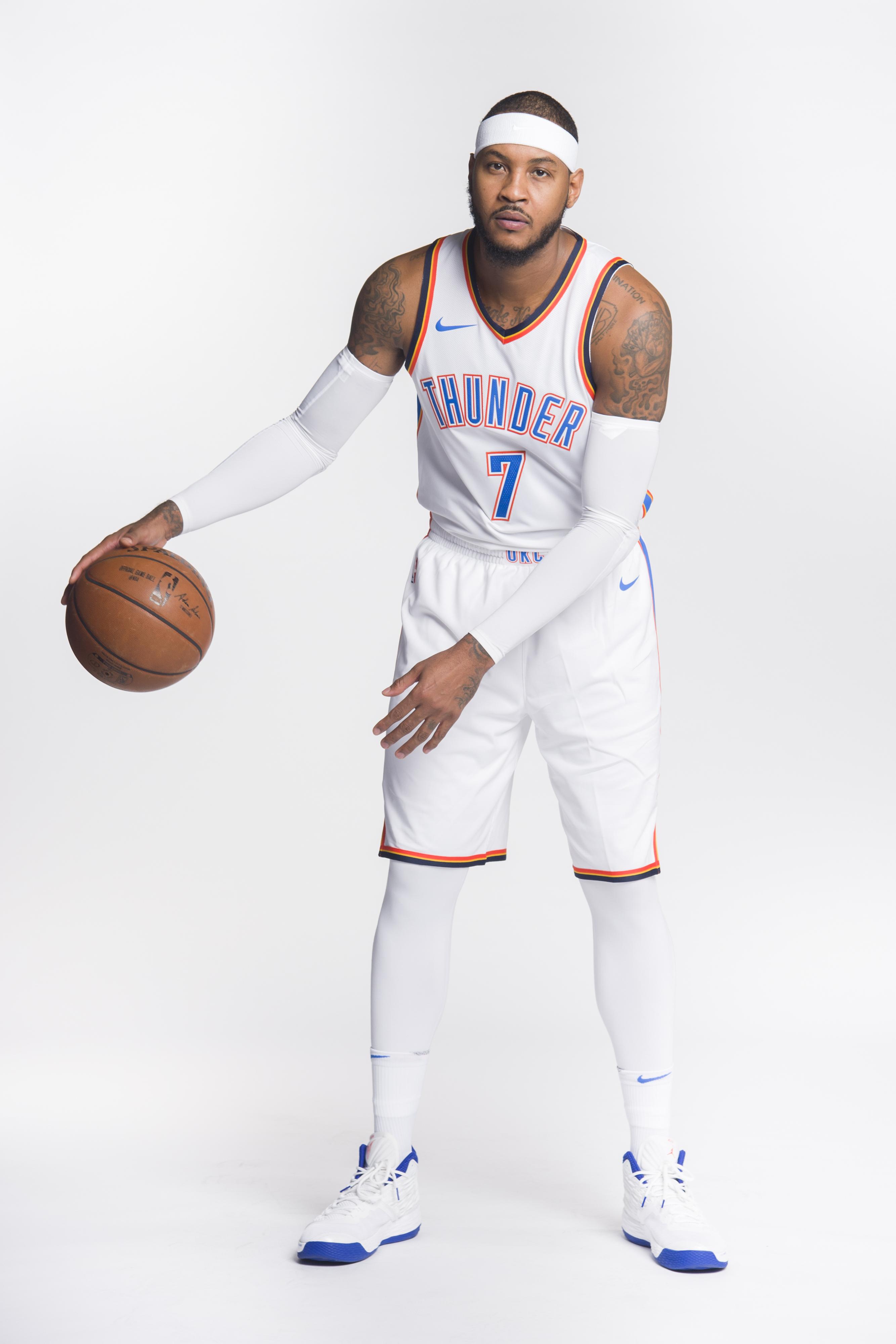 Carmelo Anthony ya no está en el OKC Thunder