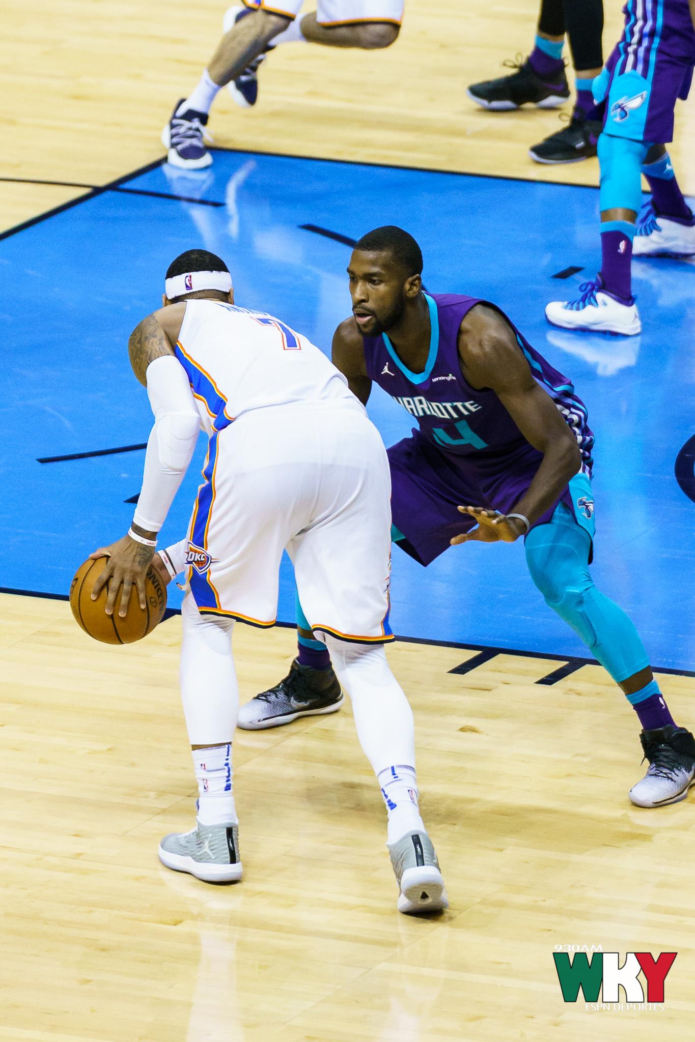 Oklahoma City Thunder vs. Charlotte Hornets
