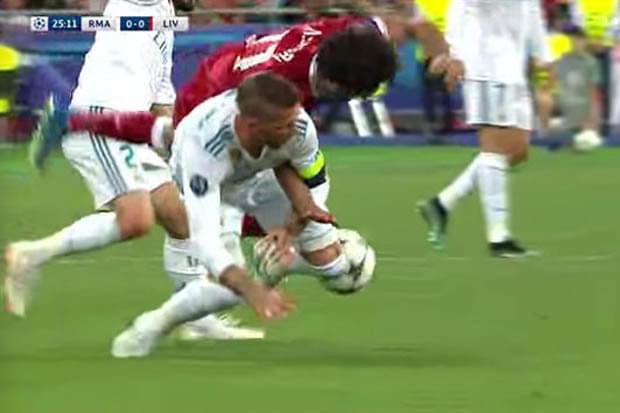 Real Madrid saca Salah y cruceros a una victoria de 3-1.
