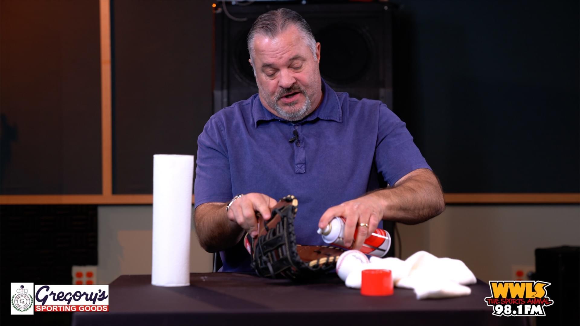 Jim Traber Explains How To Break In New Baseball Glove