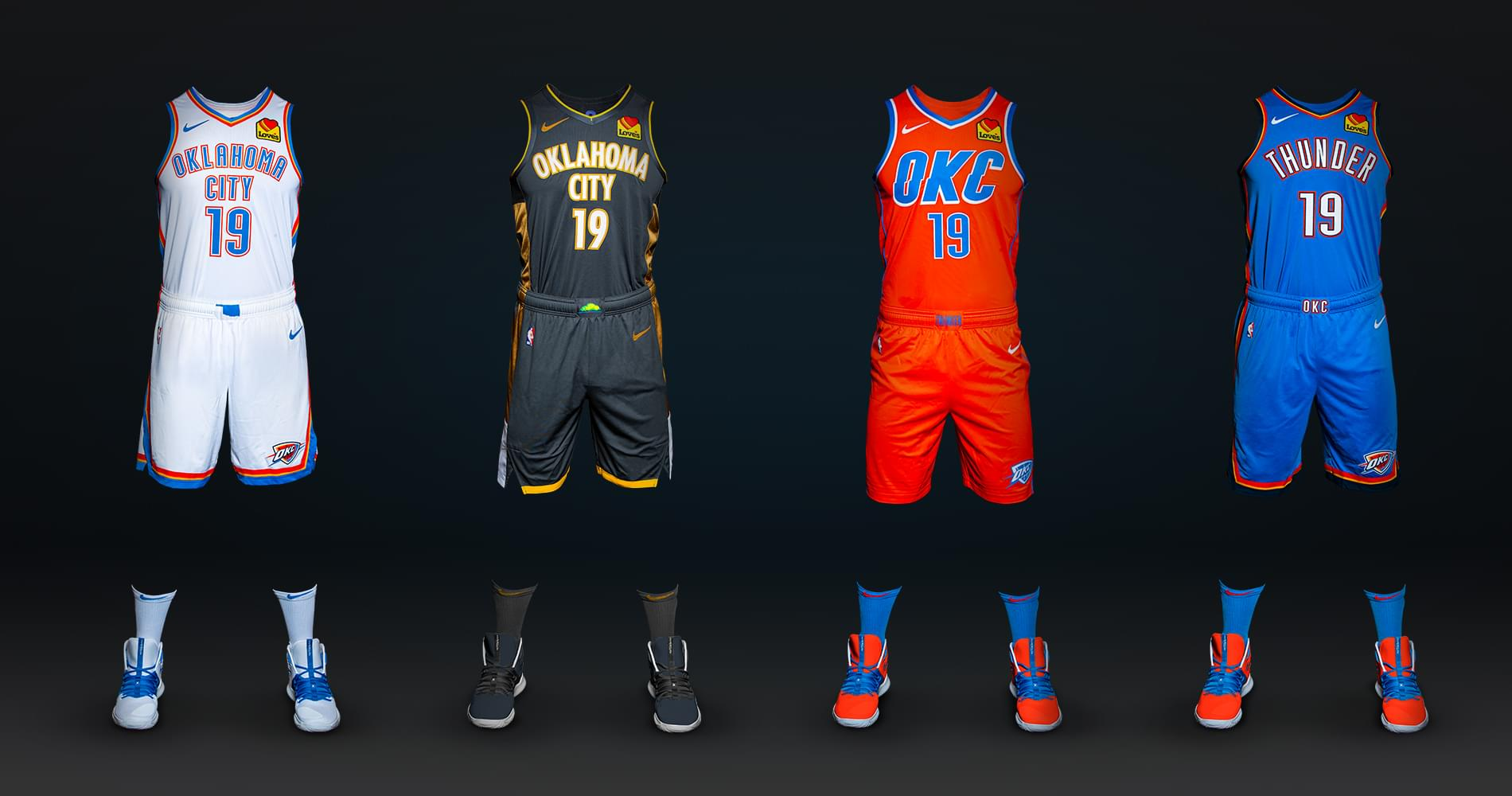 Thunder Unveils New Uniforms for 2019-2020 Season