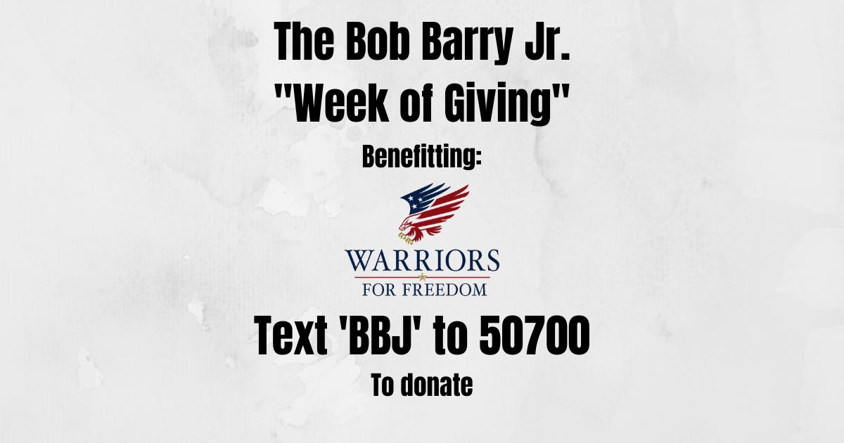 """The BBJ """"Week of Giving"""""""