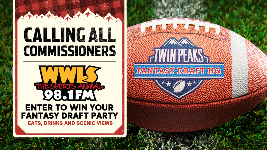 Twin Peaks Fantasy Draft Party Contest