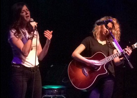 LBT's Karen Fairchild, Tori Kelly Share 'Girl Crush ' Duet! [VIDEO]
