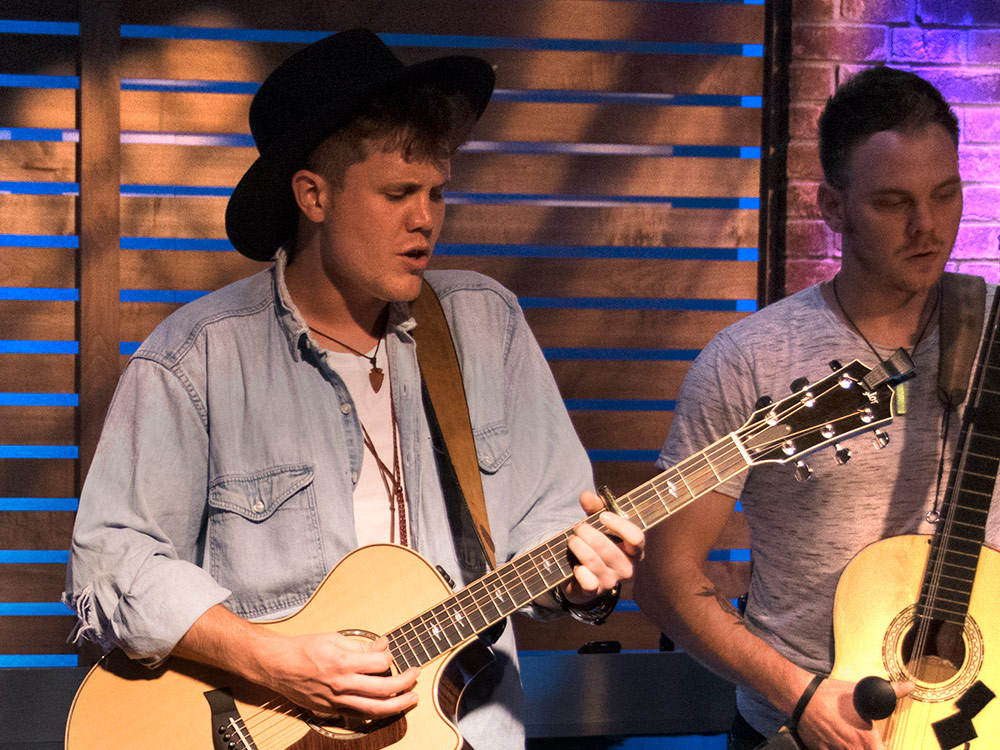 Watch American Idol Winner Trent Harmon Perform Live at the Nash Studios