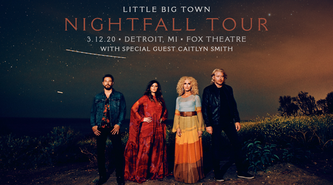 Little Big Town ~ March 12, 2020