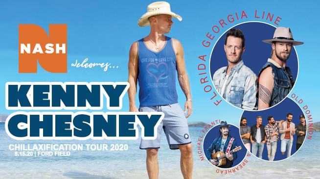 Kenny Chesney ~ August 15, 2020
