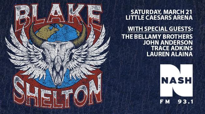 Blake Shelton ~ March 21, 2020
