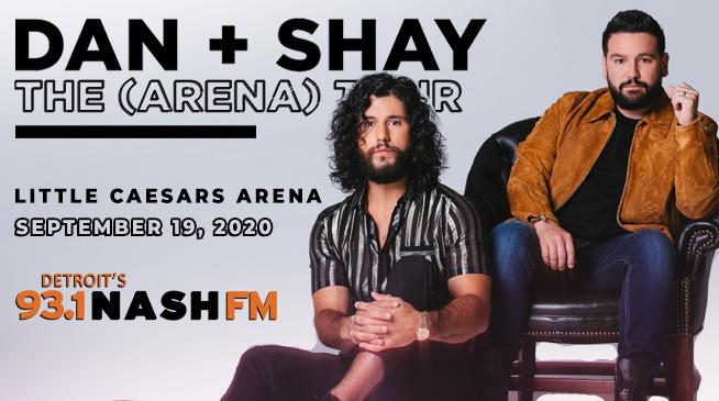 Dan + Shay The (Arena) Tour- September 19, 2020