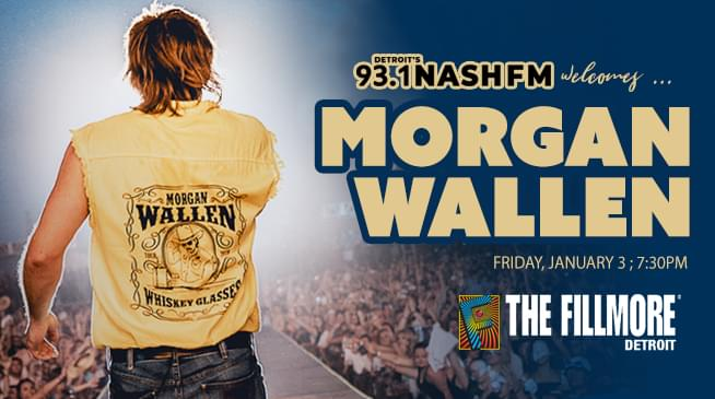 Morgan Wallen ~ Friday, January 3, 2020