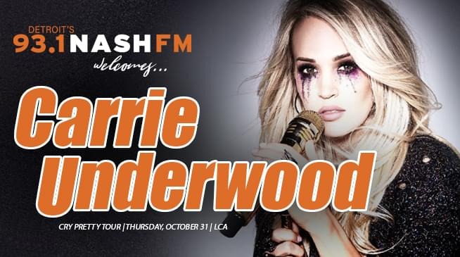 Win Your Carrie Underwood Tickets!