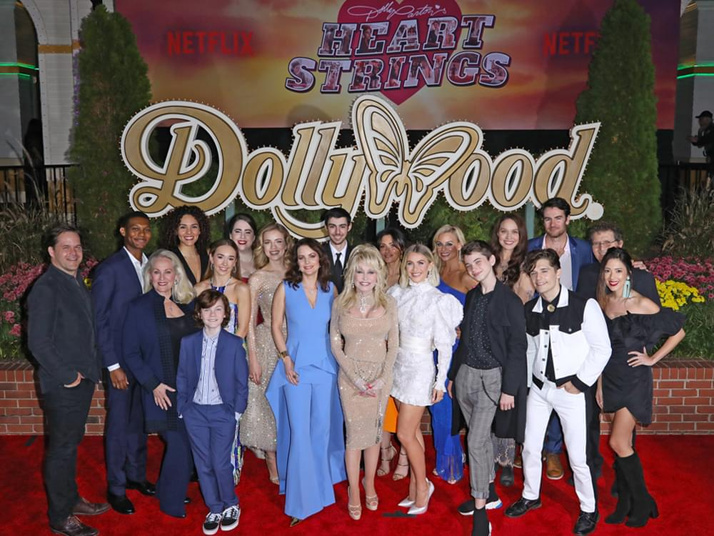Dolly Parton Premieres Her New Netflix Series at Dollywood With Red Carpet Event [Photo Gallery]