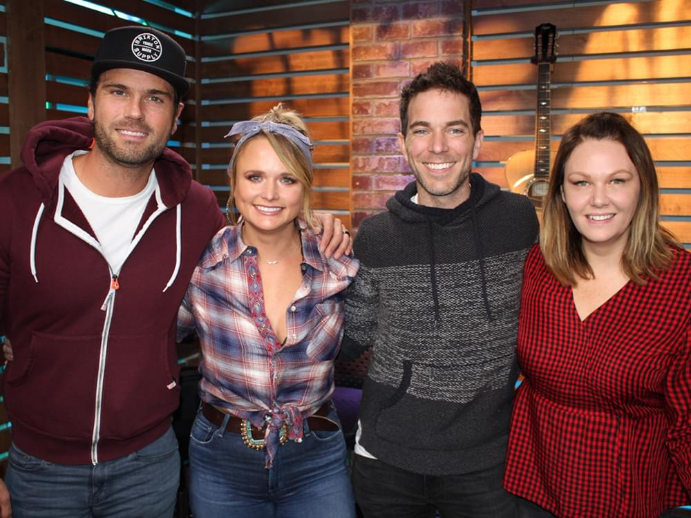 """Miranda Lambert Helps """"The Ty Bentli Show"""" Kick Off 3rd Annual """"100,000 Thank Yous"""" for the Troops"""