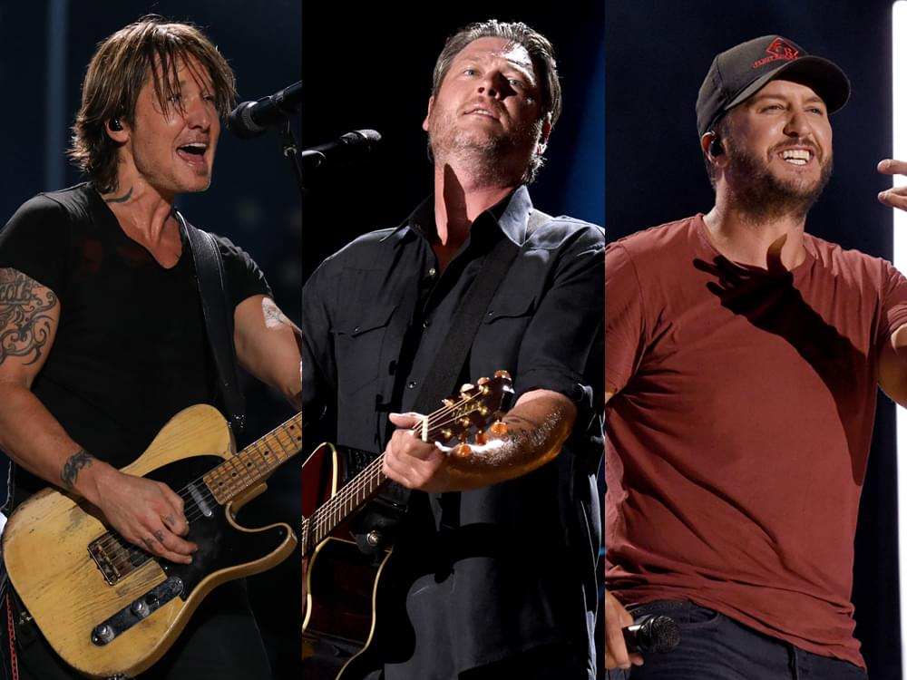 Forbes' List of the Highest Paid Country Stars of 2019 Includes Luke Bryan, Blake Shelton, Keith Urban & More