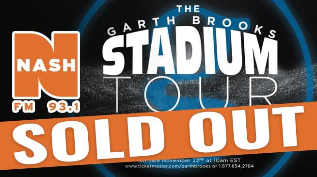 Garth Brooks Stadium Tour ~ February 22, 2020