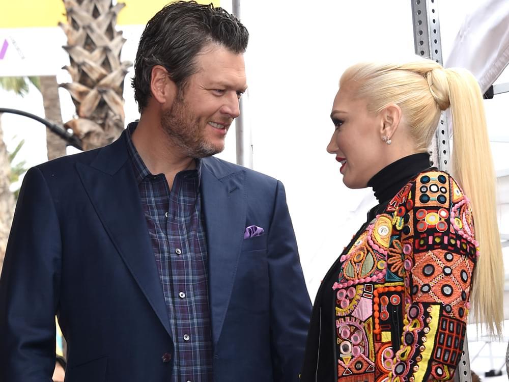 "Listen to Blake Shelton's Dreamy New Duet With Gwen Stefani, ""Nobody But You"""