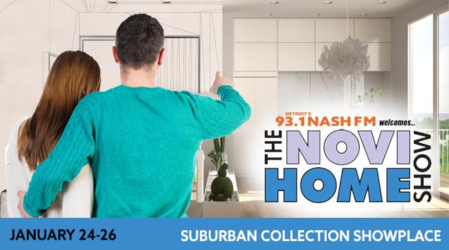 The Novi Home Show ~ January 24-26, 2020