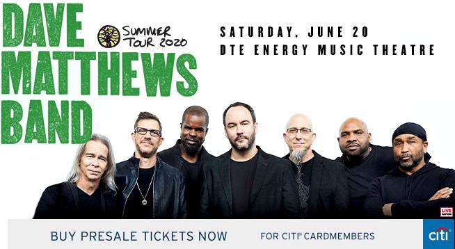 Dave Matthews Band ~ Saturday, June 20, 2020
