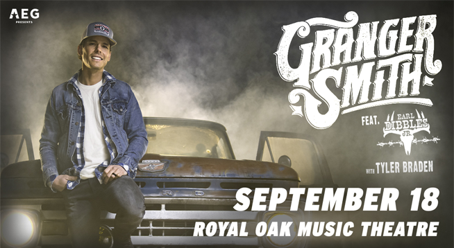 Granger Smith ~ RESCHEDULED to September 18, 2020