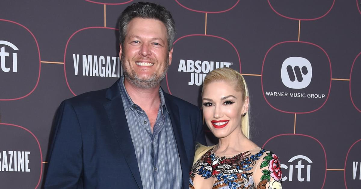 "Blake Shelton & Gwen Stefani Drop Creative New Lyric Video for ""Happy Anywhere"" [Watch]"