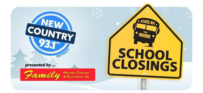 New Country News School Closings