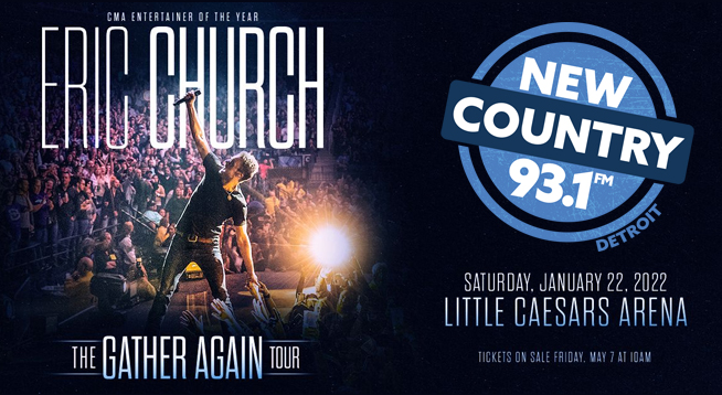 NEW COUNTRY 93.1 CONCERTS | ERIC CHURCH