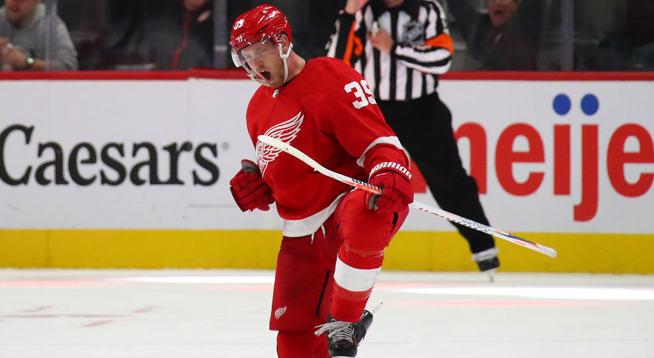 Red Wings Trade Forward Anthony Mantha to Washington Capitals