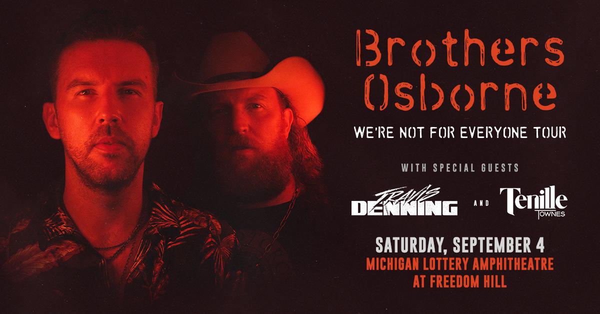 BROTHERS OSBORNE | SEPTEMBER 4, 2021
