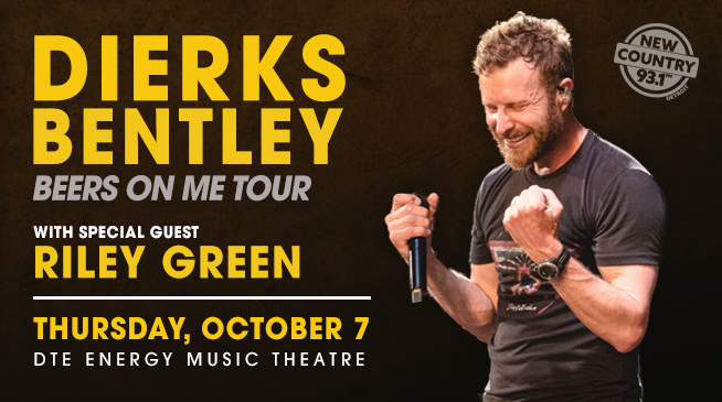NEW COUNTRY 93.1 CONCERTS | DIERKS BENTLEY