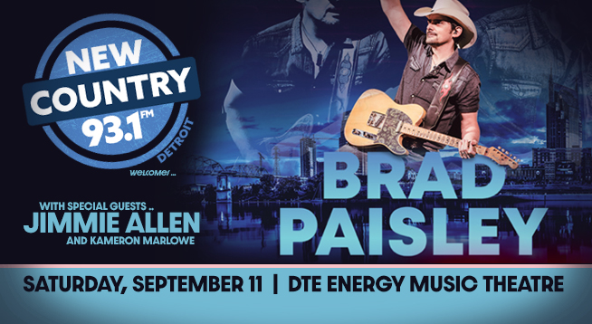 BRAD PAISLEY | SEPTEMBER 11, 2021