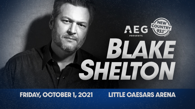 BLAKE SHELTON | OCTOBER 1, 2021