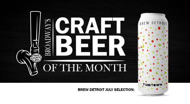 NEW COUNTRY 93.1   CRAFT BEER OF THE MONTH
