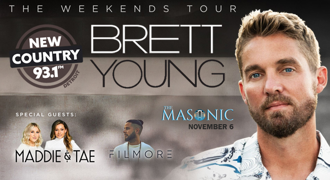 NEW COUNTRY 93.1 CONTESTS | BRETT YOUNG