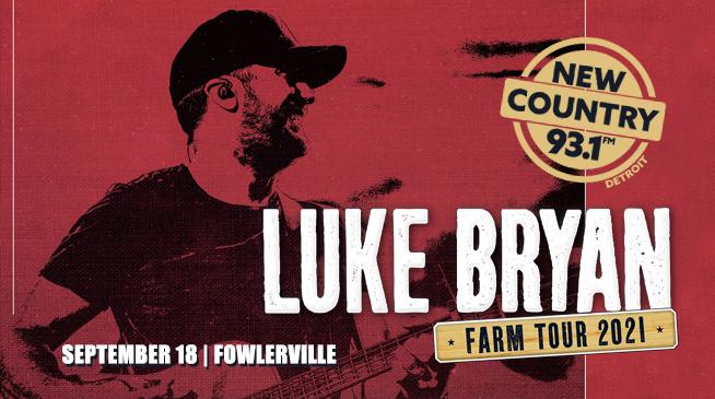 LUKE BRYAN FARM TOUR   SEPTEMBER 18, 2021