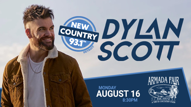 DYLAN SCOTT AT THE ARMADA FAIR | AUGUST 16, 2021