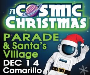 """Camarillo Christmas Parade """"A Cosmic Christmas"""""""