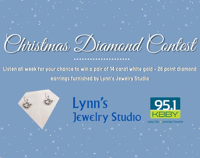 "95.1 KBBY's ""Christmas Diamond"" Contest Official Rules"