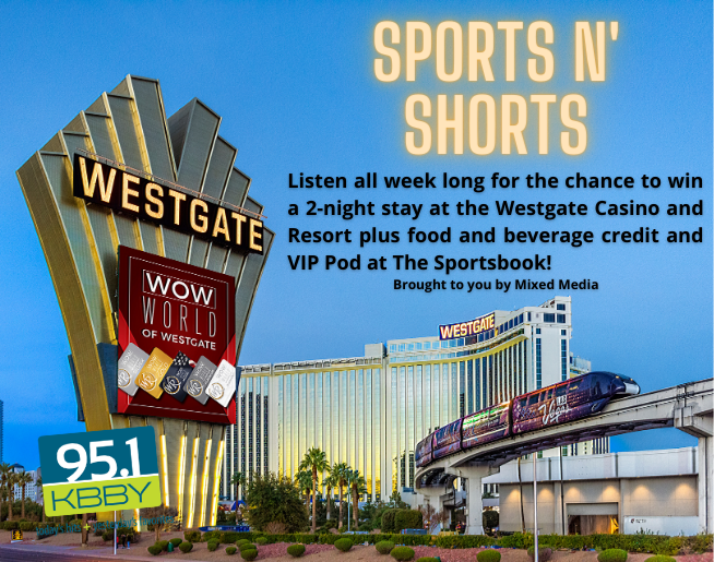 """95.1 KBBY's """"Sports N' Shorts"""" Contest Official Rules"""