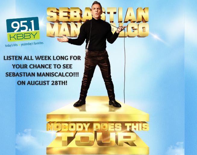 "95.1 KBBY's ""Sebastian Maniscalco"" Contest Official Rules"