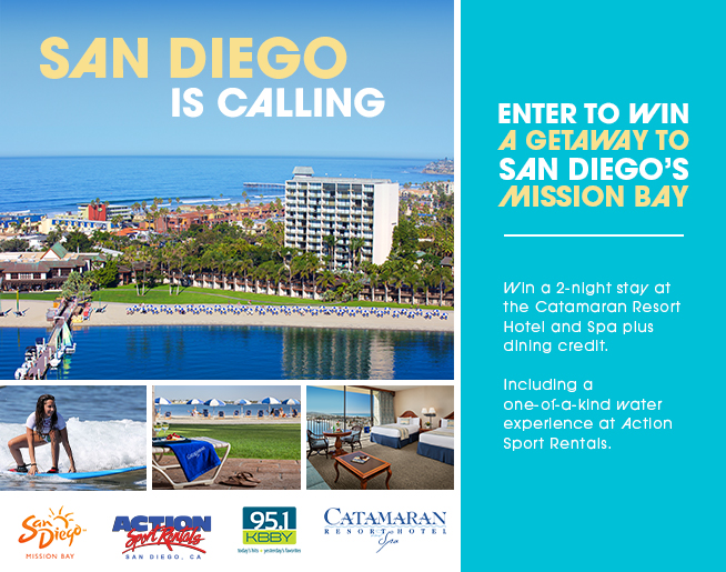 San Diego is Calling – The Catamaran