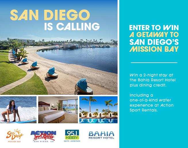 San Diego is Calling – Bahia Resort