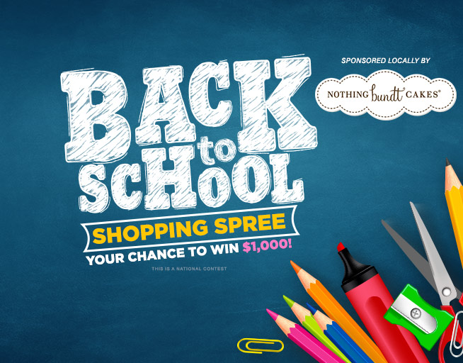 """Cumulus Media Radio Station Group's """"BACK TO SCHOOL SHOPPING SPREE""""  National Contest Official Rules"""