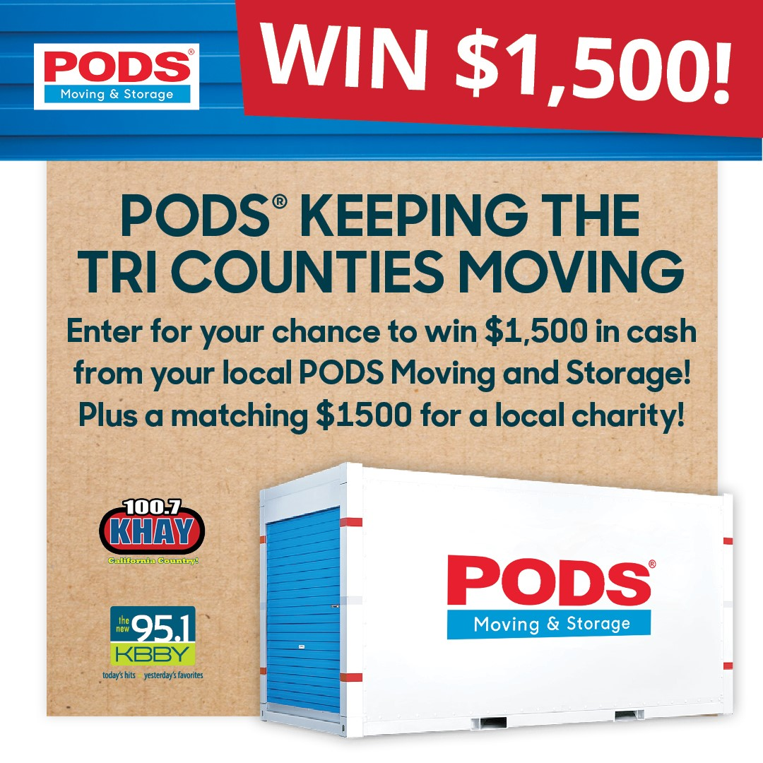PODS Keeping the Tri-Counties Moving Contest