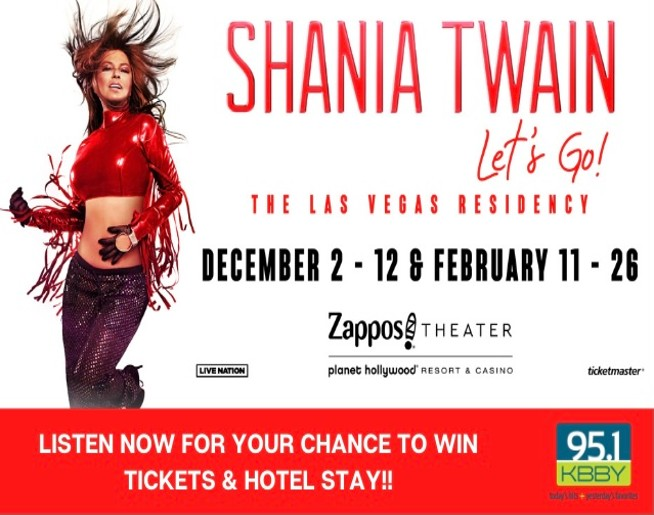 Shania Twain 'Text to Win' Official Contest Rules