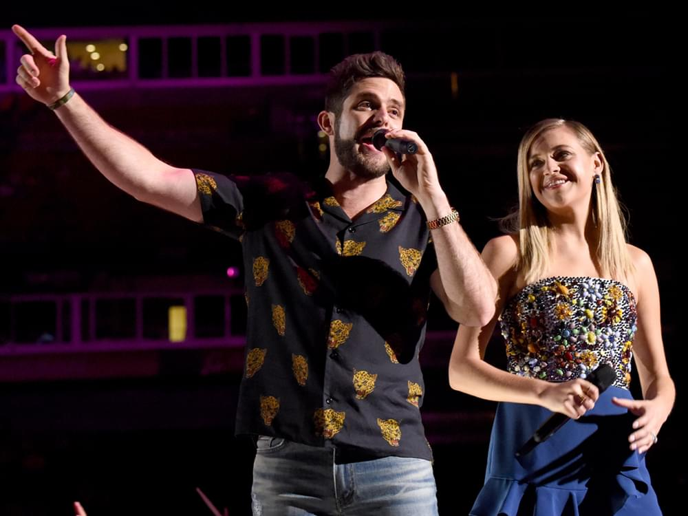 "Thomas Rhett & Kelsea Ballerini Return to Co-Host ""CMA Fest"" Television Special on ABC"