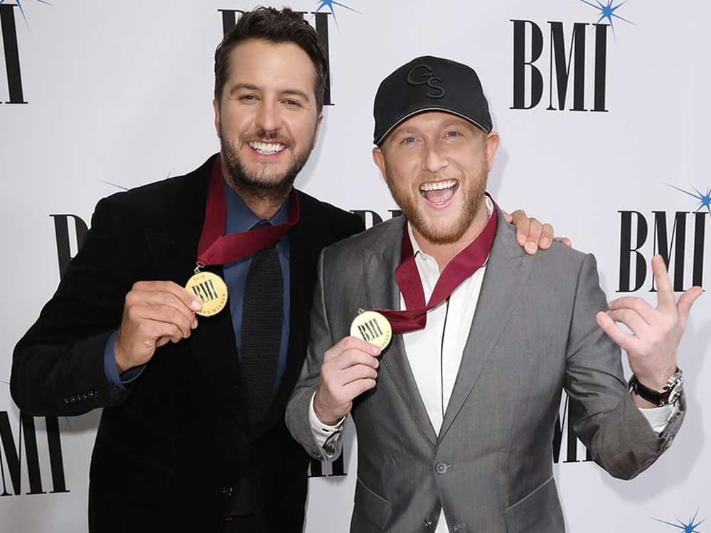 """Luke Bryan Looks to Find Songwriting Magic With Cole Swindell on """"Sunset Repeat Tour"""""""