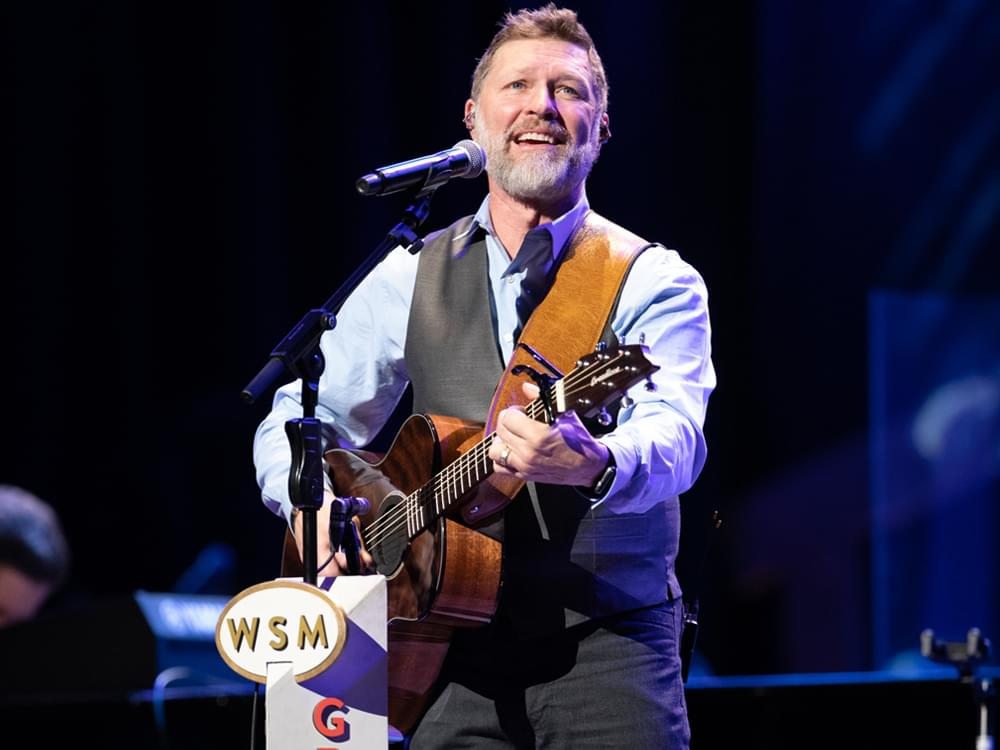 "Watch Craig Morgan Honor Late Son During Opry Performance of ""The Father, My Son & the Holy Ghost"""